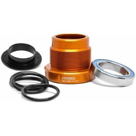 Trickstuff NoGo Boîtier de pédalier Compatible HT2, orange/black